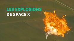 La dernière fusée d'Elon Musk s'est écrasée et pour lui c'est plutôt une bonne