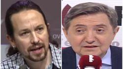 Pablo Iglesias responde a Jiménez Losantos tras sus insultos a una