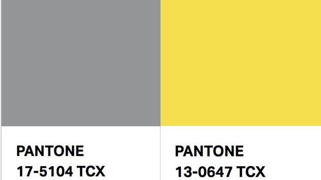 Estos son los dos colores para 2021, según
