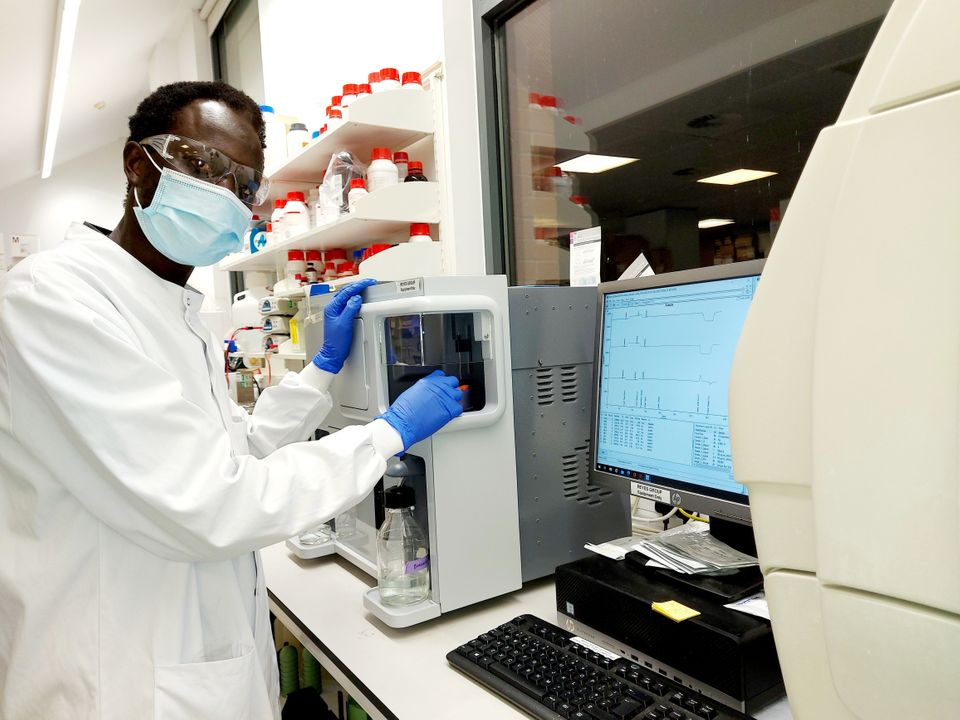Dr Mustapha Bittaye never expected to work on a project of this scale so early in his