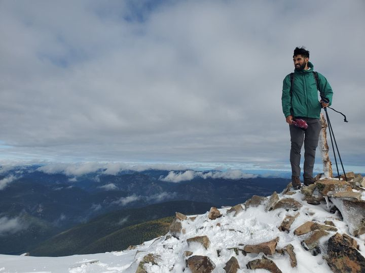 Peter Singh, 26, is a medical school student at the University of British Columbia. He found solace in nature when coping with his father's death in 2014.