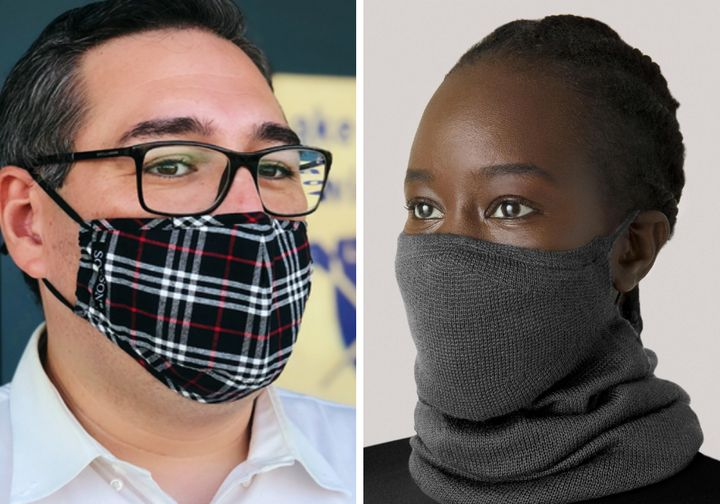 Face masks come in a variety of colors, fabrics and sizes. Find one that's right for you.