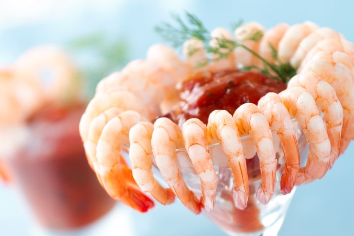 Shrimp contain zinc that can boost your immune system and keep you from feeling rundown.