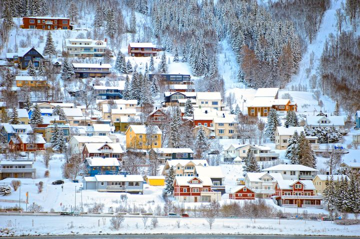 Tromso, Norway, where seasonal depression rates are low even though they don't get sun at all for two full months.