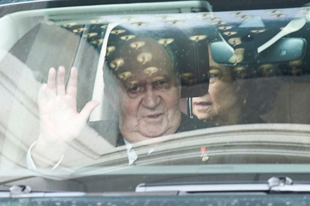 Imagen de archivo del rey emérito Juan Carlos