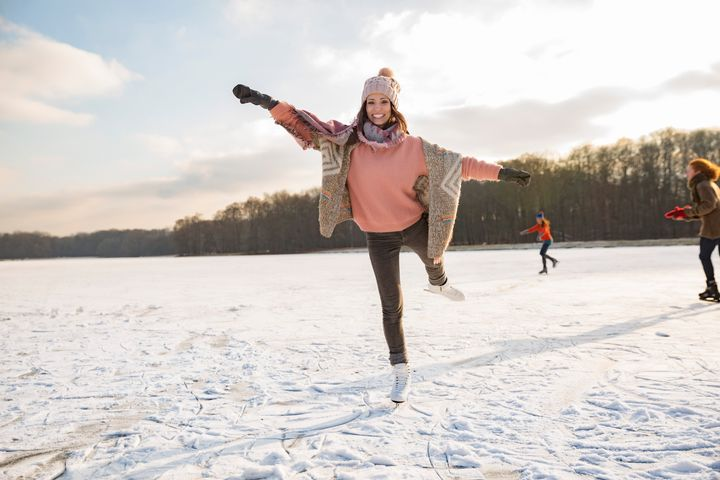 Ice skating or other outdoor activities can make winter a lot more bearable.