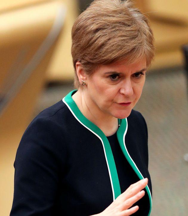 スコットランド自治政府のニコラ・スタージョン首相