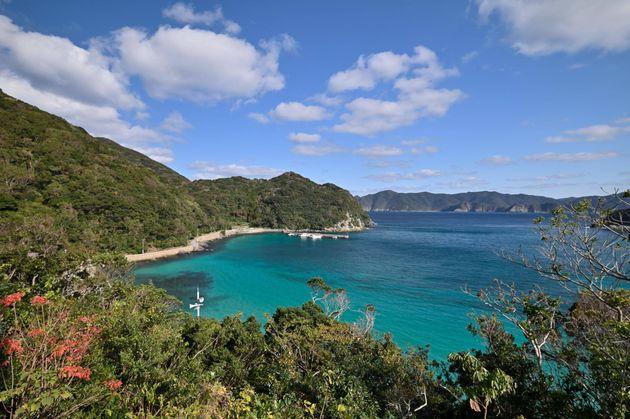 五島市・福江島の北端に位置する半泊集落