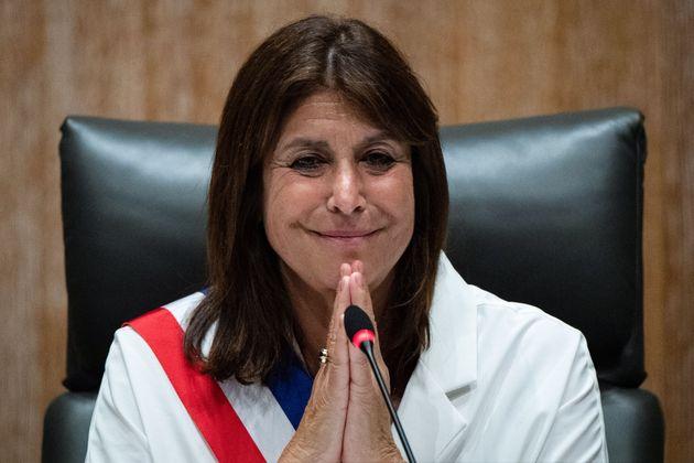 Michèle Rubirola photographiée le 4 juillet, après on élection à la...