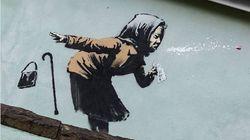 Banksy refleja de nuevo la pandemia con este potente estornudo sin