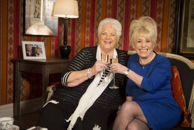 Pam St Clement and Barbara