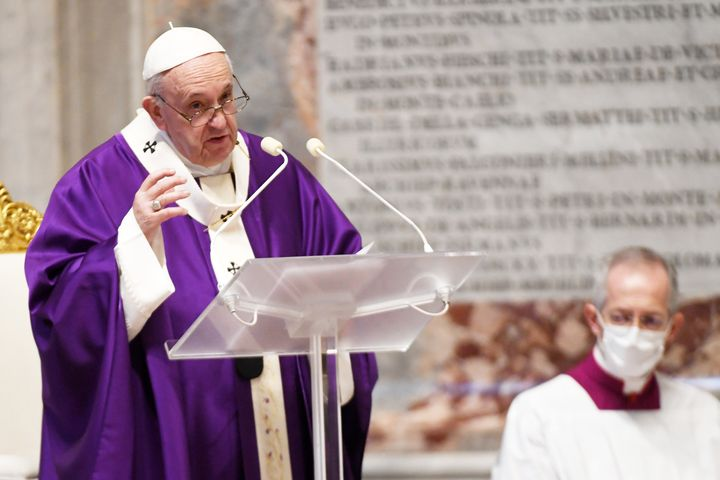 Pope Francis has often encouraged people to respect government regulations aimed at containing the virus.