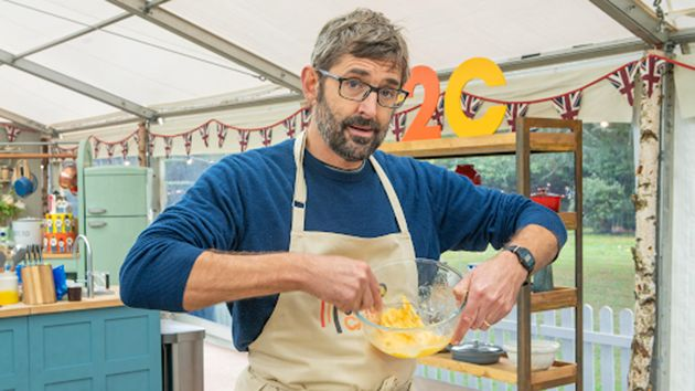 Louis Theroux appeared on Great British Bake Off earlier this