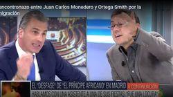 Una bronca a voces entre Monedero y Ortega Smith provoca una reacción radical de Ana