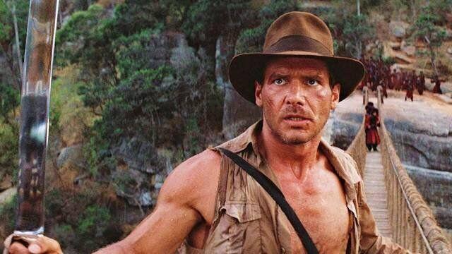 Harrison Ford en la primera entrega de 'Indiana Jones'.