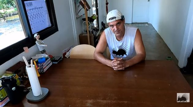 Frank Cuesta en su vídeo de respuesta a Ibai
