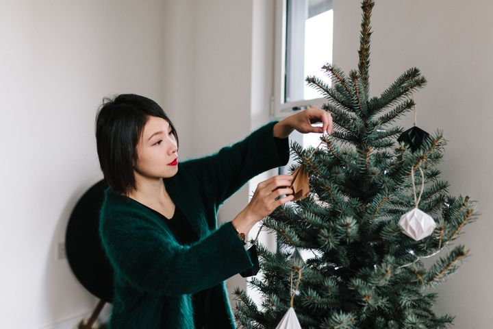 Get creative and come up with your own holiday traditions — whether it's hosting a holiday movie marathon or cooking up a special meal for yourself.