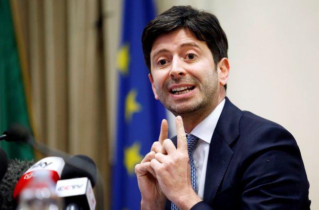 Italian Health Minister Roberto