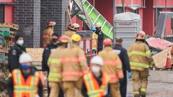 2 Dead, Others Injured After Building Collapses In London,