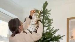 クリスマスツリーのライトの巻きつけ方、間違っていませんか?