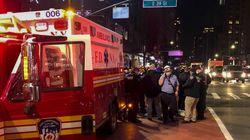 Une voiture percute des manifestants à New York, plusieurs