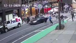 Una mujer atropella con su coche a un grupo de manifestantes de 'Black Lives Matter' en Nueva