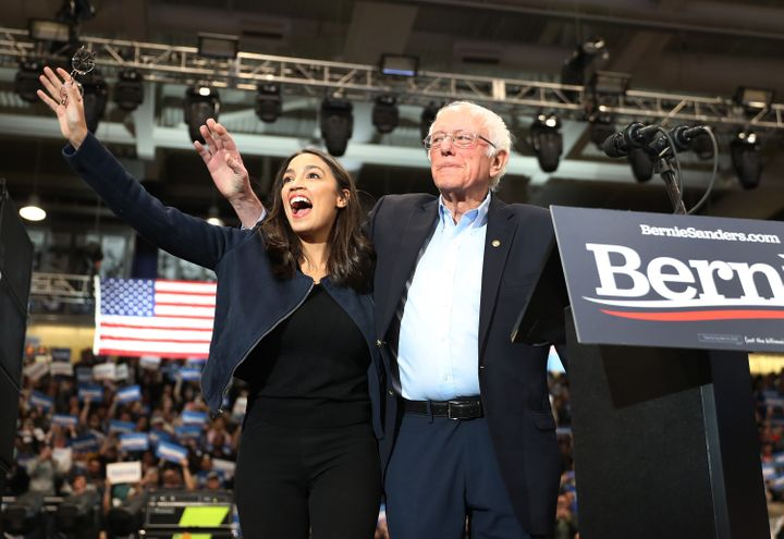 Republicans used Eastman's positions and comments to tie her to Rep. Alexandria Ocasio-Cortez (D-N.Y.) and Sen. Bernie Sander