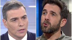La respuesta de 'Gonzo' a estas palabras de Sánchez en Telecinco sobre Juan Carlos