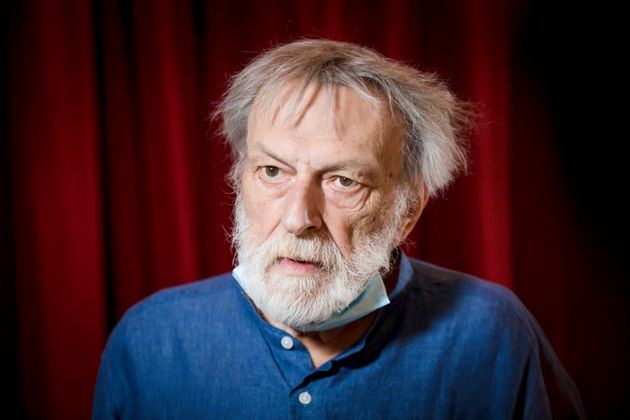 The founder of Emergency Gino Strada receives the More Love Award at the Piccolo Teatro Strehler as part...