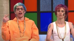 Timothée Chalamet And Pete Davidson Get Slapped On SNL As Overly Confident White