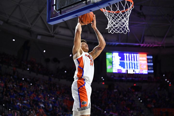Keyontae Johnson of the University of Florida Gators collapsed during a game against Florida State University on Saturday.