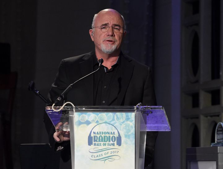Personal finance guru Dave Ramsey has railed against social distancing guidelines on his radio show.