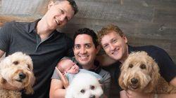 男性3人で父親になることを、初めて認められたパパたち。「色々な家族のかたちがあることを受け入れて欲しい」