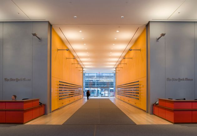 New York Times, New York, United States, Architect Renzo Piano Building Workshop / Fx Fowle Architects,...