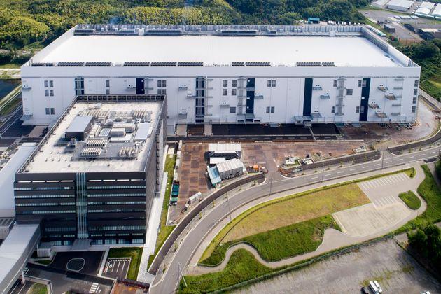 三重県四日市市の半導体工場