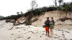 After Fires, Australia Cops 'Cyclonic' Weather, Floods And Beach