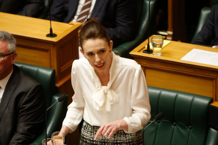 """<a href=""""https://www.huffingtonpost.com.au/news/jacinda-ardern/"""" target=""""_blank"""" rel=""""noopener noreferrer"""">Jacinda Ardern</a> said on Monday that the New Zealand cabinet has agreed in principle to allow travel with Australia without quarantine in the first quarter of 2021."""
