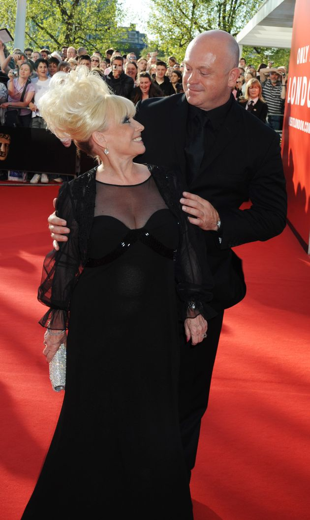 Barbara Windsor and Ross Kemp, pictured in