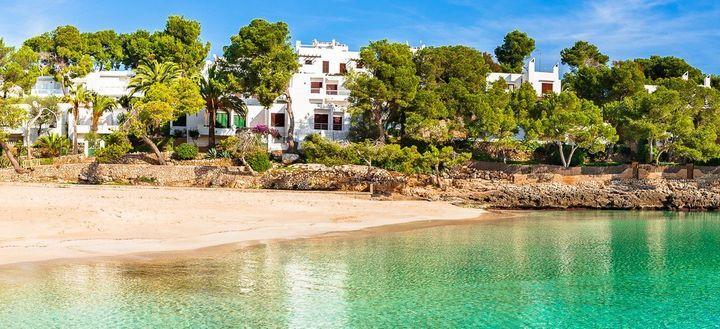 Cala d'Or, en Mallorca (España).
