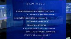 Octavos de Champions: Atalanta-Real Madrid; Barça-PSG; Atlético-Chelsea y
