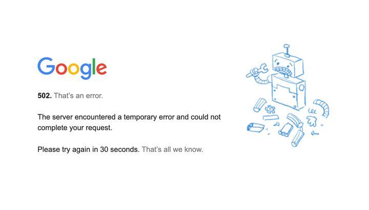 Personne n'est épargné par 2020. Pas même le géant Google.
