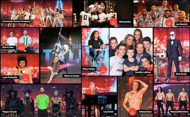 Les 13 finalistes de la quinzième saison de