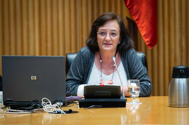 La presidenta de la Autoridad Independiente de Responsabilidad Fiscal (AIReF), Cristina Herrero, comparece...