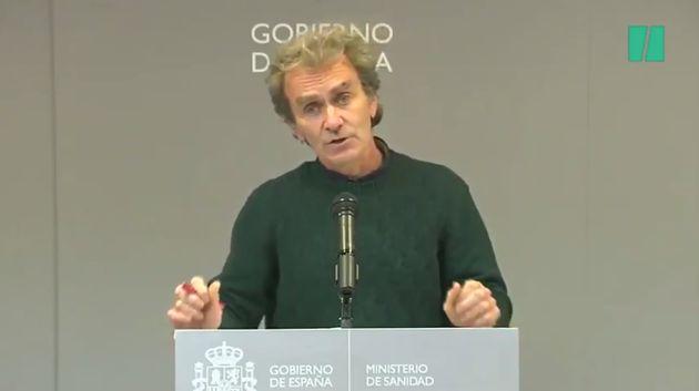 Fernando Simón en rueda de