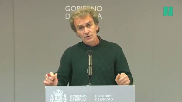 Fernando Simón on the wheel of