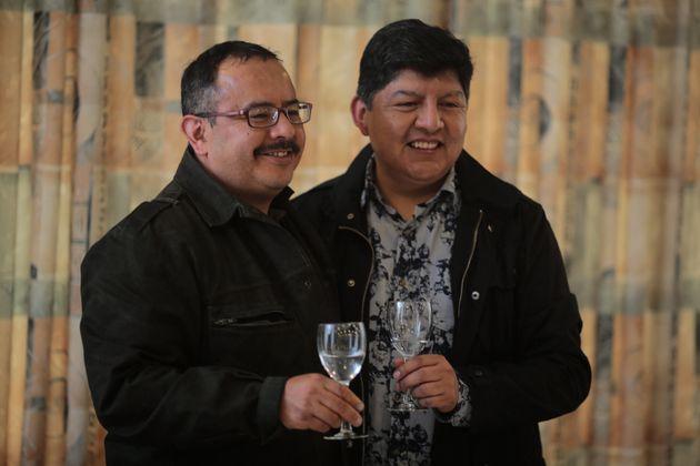 볼리비아에서 처음으로 동성 간 혼인(시민 결합)을