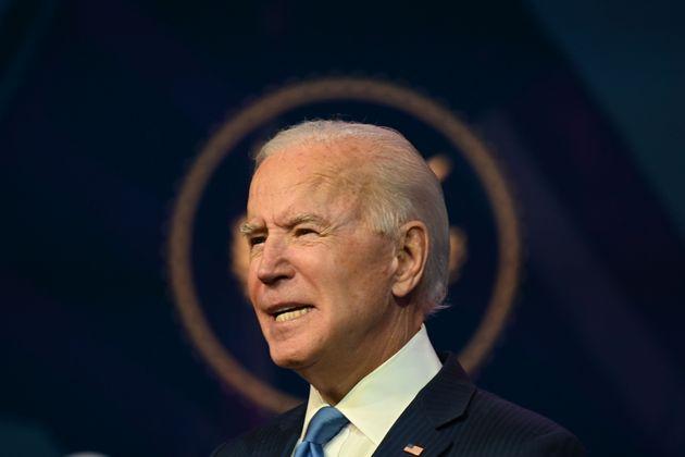 조 바이든 미국 대통령 당선인. 바이든은 선거인단 306명을 확보해 232명을 얻은 도널드 트럼프 대통령을