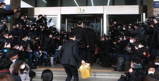 윤석열 검찰총장에 대한 징계위원회가 열리는 경기