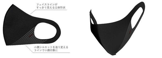 「小顔シルエットマスク」商品イメージ