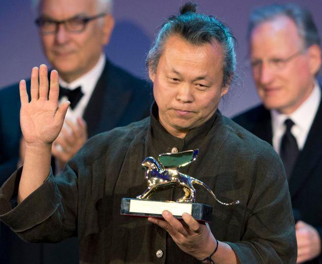 2012年ベネツィア国際映画祭で受賞したキム・ギドク監督